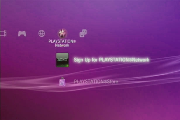 Problem med at logge på Playstation Network